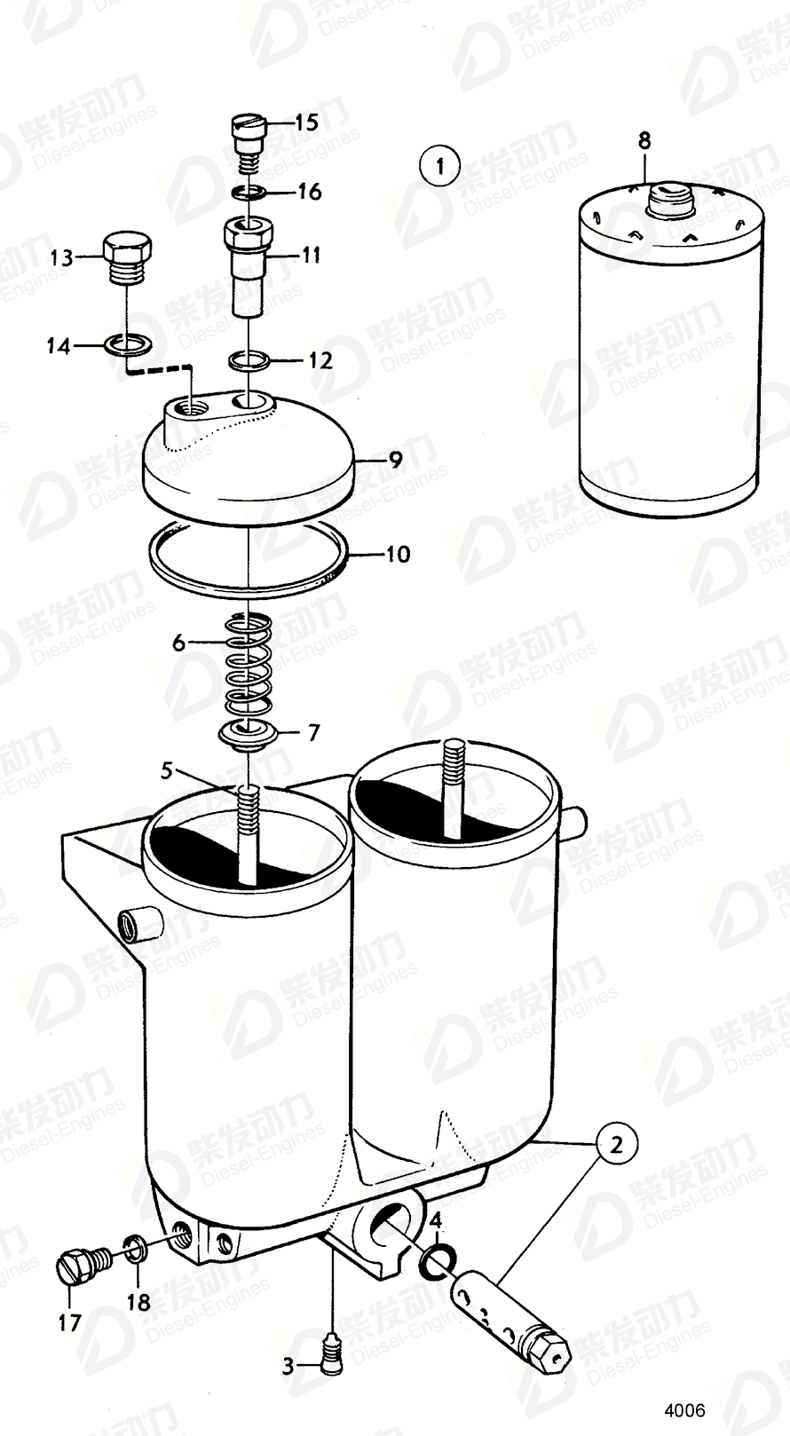 VOLVO Screw 843834 Drawing